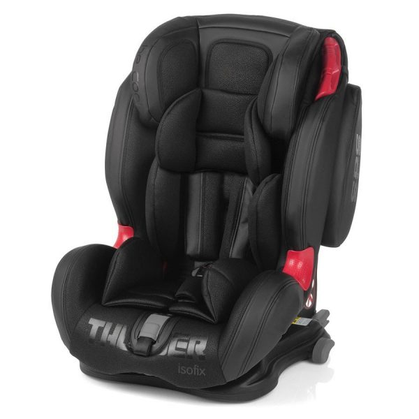 "Seggiolino auto Be Cool Thunder Isofix colore ""Black Crown"""