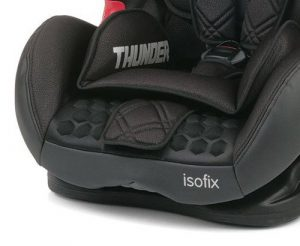 Seduta anatomica del seggiolino Be Cool Thunder Isofix