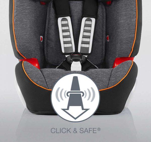 """Sistema """"Click & Safe"""" che indica con un suono la corretta tensionatura delle cinghie"""