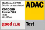 Concord Reverso Plus: riconoscimento ADAC