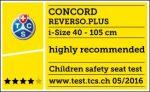Concord Reverso Plus: riconoscimento TCS