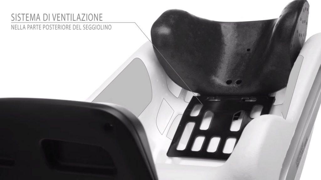Concord Reverso Plus: fessure posteriori per una migliore ventilazione