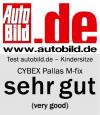Riconoscimento AutoBild.de per Cybex Pallas M-Fix