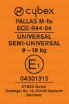 Cybex Pallas M-Fix etichetta omologazione gruppo 1