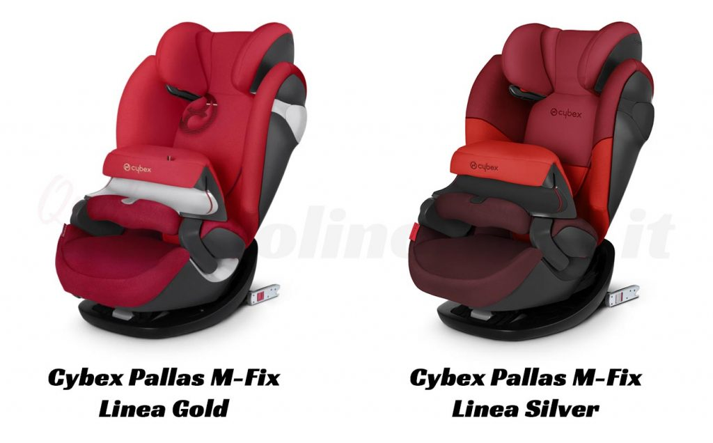 Cybex Pallas M Fix nelle versioni Gold e Silver