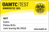 Riconoscimento OEAMTC per Cybex Pallas M-Fix