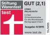 Riconoscimento Stiftung & Warentest per Cybex Pallas M-Fix