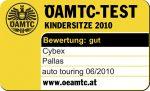 Riconoscimento OAMTC per Cybex Pallas