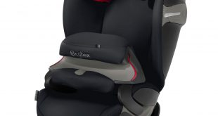Cybex Pallas S-Fix Nero (Black Lavastone)