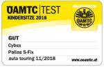 Valutazione ÖAMTC del seggiolino Cybex Pallas S-Fix