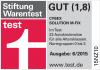Riconoscimento Stiftung Warentest per Cybex Solution M-Fix