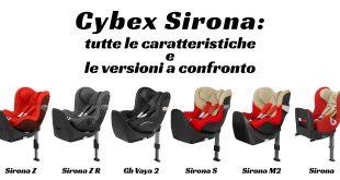 Confronto tra i modelli Cybex Sirona