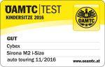 Riconoscimento OAMTC per Cybex Sirona M2 i-Size