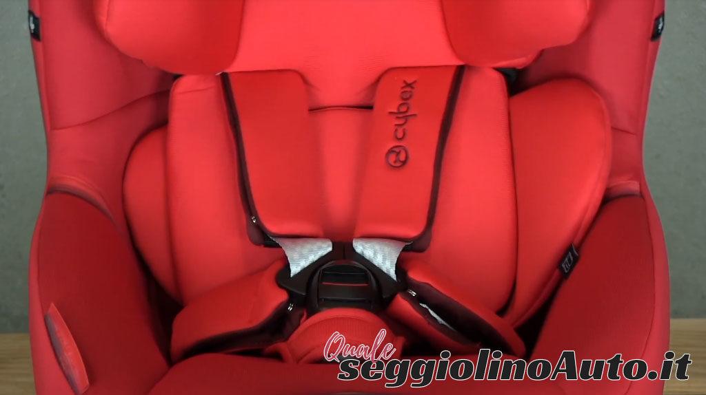 Cinture a 5 punti del Cybex Sirona S i-Size