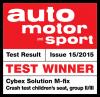 Riconoscimento Auto Motor und Sport per Cybex Solution M-Fix