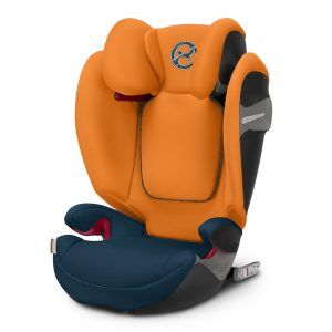 Cybex Solution S-Fix (colore tropical blue)