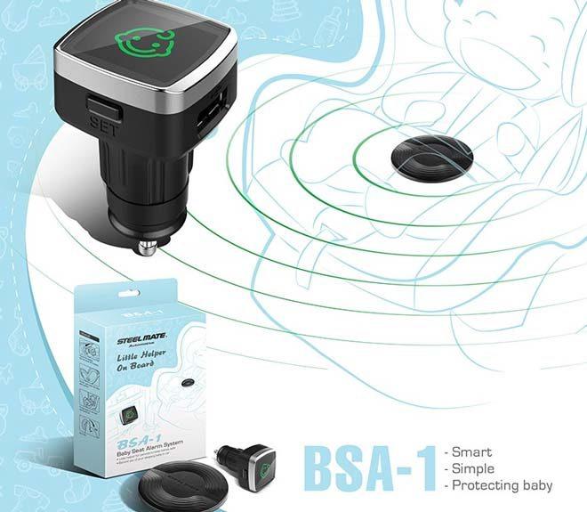 Sensore antiabbandono Steelmate BSA-1