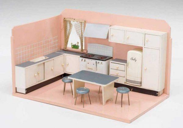 Cucina giocattolo di Foppapedretti (anni '50)