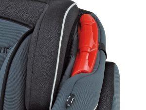 Guida del seggiolino Dinamyk 9-36 per il passaggio ottimale delle cinture di sicurezza dell'auto