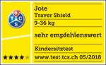 Valutazione TCS del seggiolino Joie Traver Shield