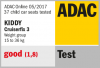 Valutazione ADAC del seggiolino Kiddy Cruisefix 3