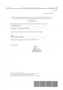 MyMi: dichiarazione di conformità