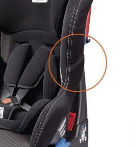 Elastico del seggiolino auto Peg Perego Viaggio 0+1 Switchable utilizzabile per tenere aperte le cinture del seggiolino