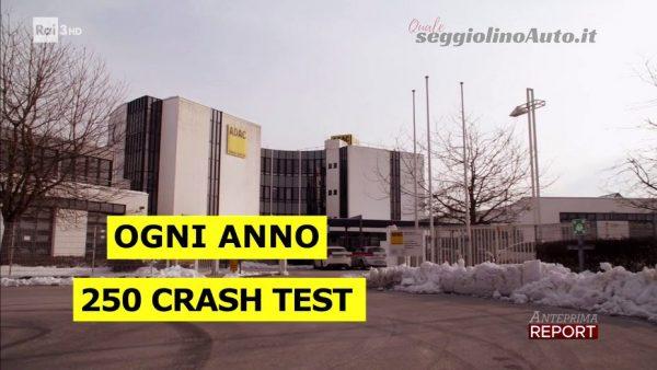 Report: 250 crash test indipendenti ogni anno