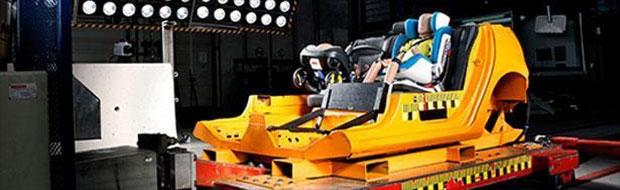 Crash test seggiolini auto TCS e ADAC