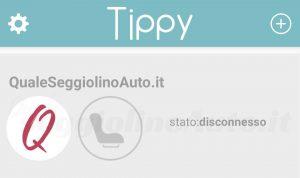 Tippy: stato disconnesso
