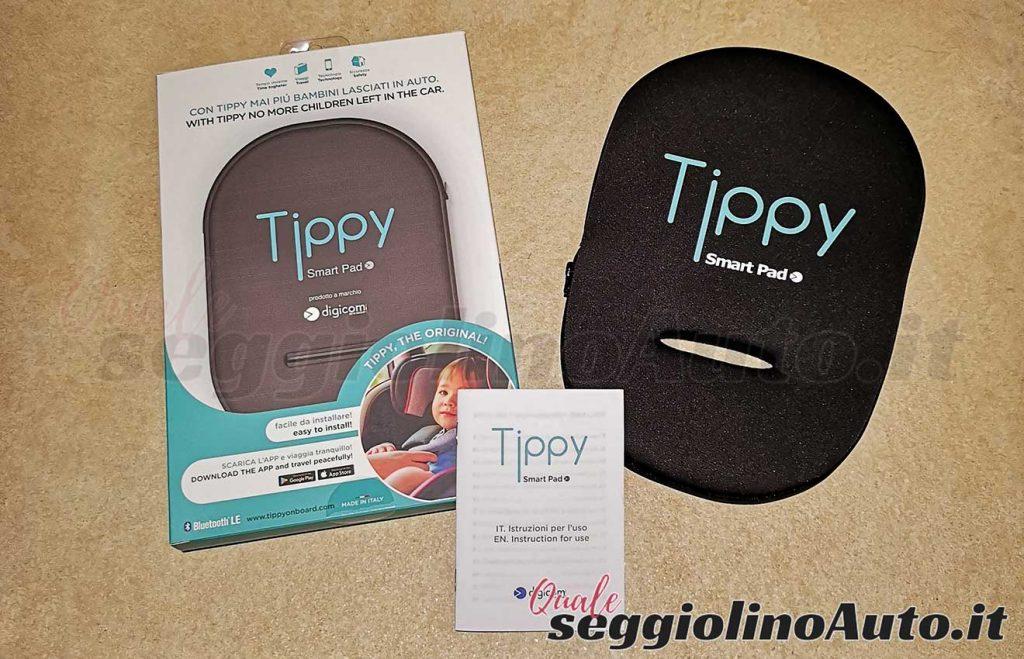 Contenuto della confezione di Tippy